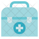Pharmacy First Aid Kit Medical Box Icon