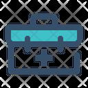Medical Briefcase Bag Icon