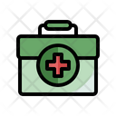First Aid Kit Medicine Box Medical Icon