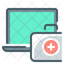 First Aid Kit Repair Laptop Icon