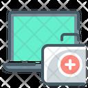 First Aid Kit Repair Laptop Icon