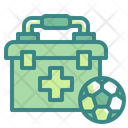 First Aid Kit Soccer Football Icon