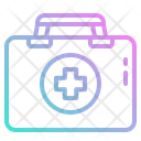 First Aid Kit Medicine First Icon