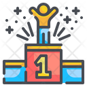 First Position First Place Position Icon
