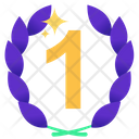 First Position Award Badge Badge Icon