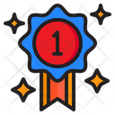 Medal First Prize Icon