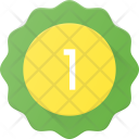Badge Sticker First Icon