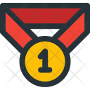 First Prize Medal Icon