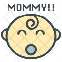 First Word Baby Icon