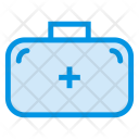 Firstaid Kit Bag Briefcase Icon