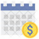 Fiscal Year Financial Period Business Year Icon