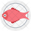 Fish Grill Fish Sea Animal Icon