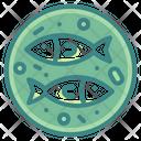 Fish Dish Plate Icon