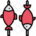 Fish Grill Barbecue Icon