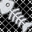 Fish Fish Skeleton Food Icon