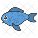 Fish Seafood Emoji Icon
