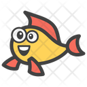 Fish Seafood Emoji Icon