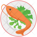 Fish Grilled Cooked Icon