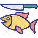 Angling Bait Blade Icon