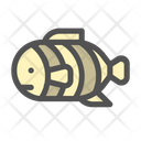 Fish Clown Sea Icon
