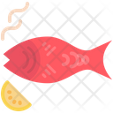 Grill Seafood Barbecue Icon