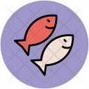 Fish Cooked Food Icon