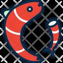 Fish Prawn Fishing Icon