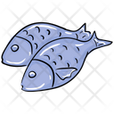 Fish Aquatic Animal Seafood Icon