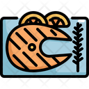 Fish Steak Seafood Icon