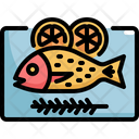 Fish Lemon Seafood Icon