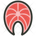 Fish Meat Raw Icon