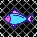Tuna Fish Animal Icon
