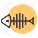 Fish Bone Food Icon