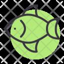 Fish Pomfret Aquatic Icon