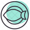 Fish Pomfret Fry Icon