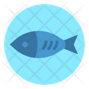 Fish Fisher Meat Icon