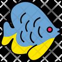 Summer Fish Beach Icon