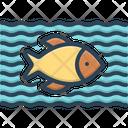 Fish Animal Aqua Icon