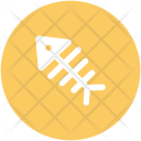 Fish Bone Food Icon