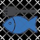 Fish Food Restaurant Icon