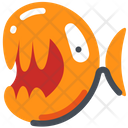 Fish Piranha Adanger Icon