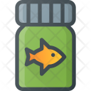 Fish Food Animal Icon