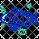 Fish Seafood Sea Animal Icon