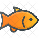 Fish Gold Animal Icon