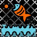 Fish Aquatic Animal Icon