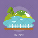 Fish Pond Agriculture Icon