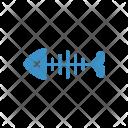 Fish Skeleton Halloween Icon