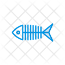 Fish Seefood Skeleton Icon