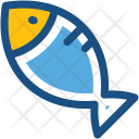 Fish Seafood Uncooked Icon