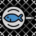 Fish Steak Cooking Icon